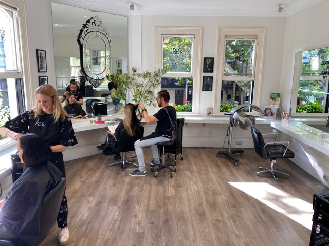 quarantine in style, hair salon, covid19, corona, fashion